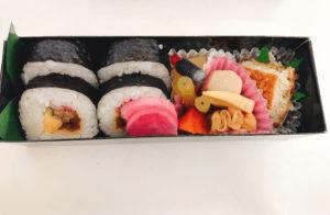 金のさんまの巻き寿司