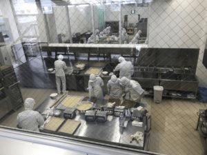 クルミっ子の工場見学