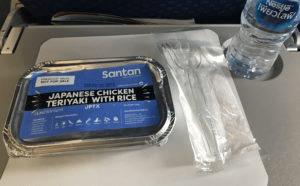 AirAsiaの機内食