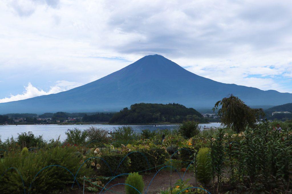 富士大石ハナテラスから見える富士山