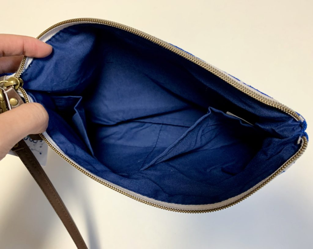 ムーミン ジャガード織りクラッチバッグ
